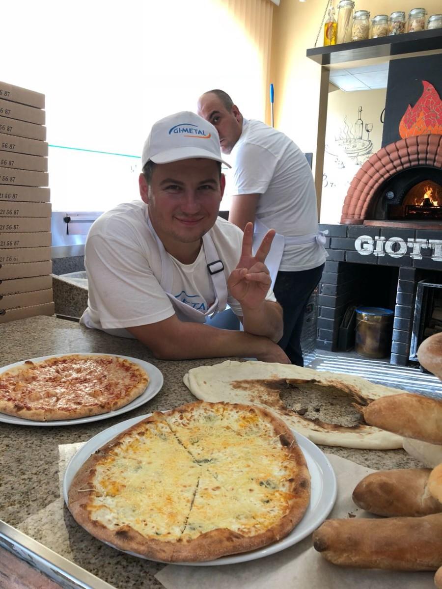 Будни начинающего пиццайоло в школе