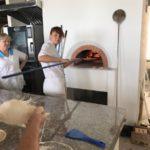 Работа с лопатой и печью