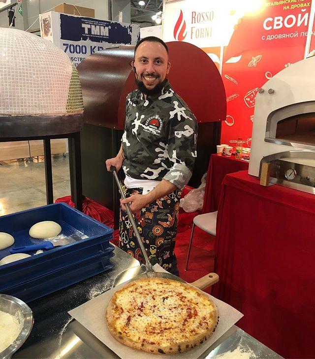 Александр Богданов Чемпион России по пицце