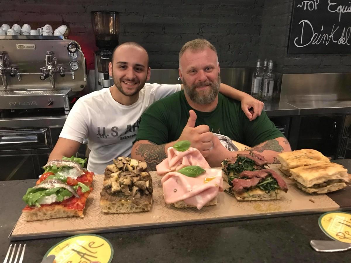 Габриэле Бончи и его римская пицца