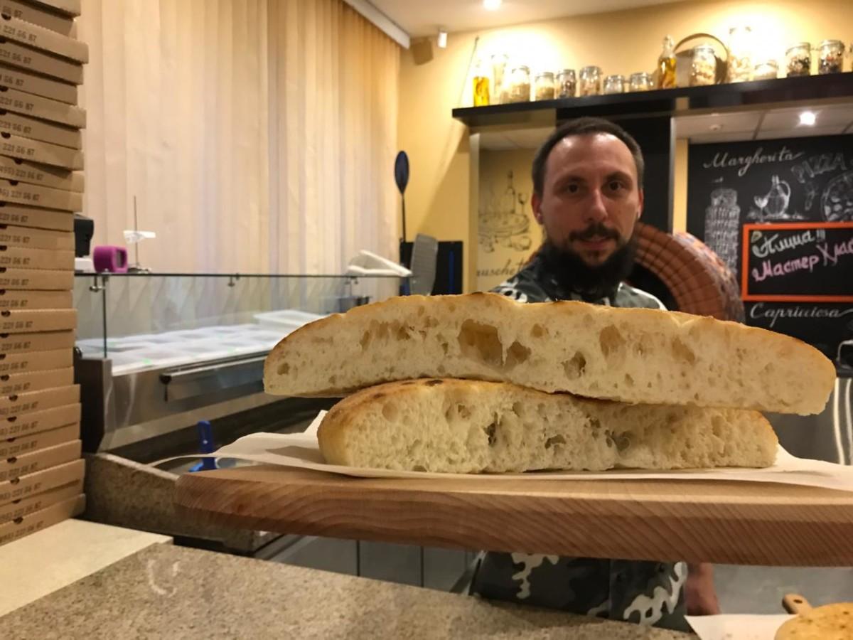 Тесто на римскую пиццу