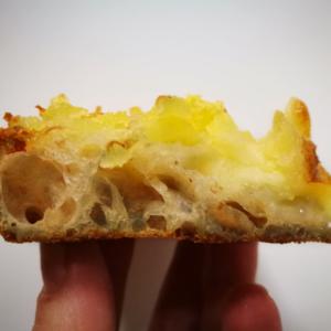 Римская пицца с картофельно-сырным топпингом