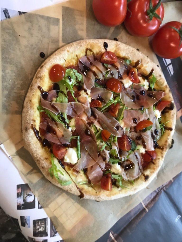 Пицца по рецептуре с новой технико-технологической карты