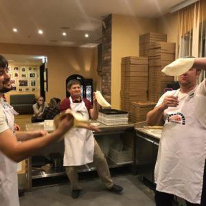 Пицца акробатика начало