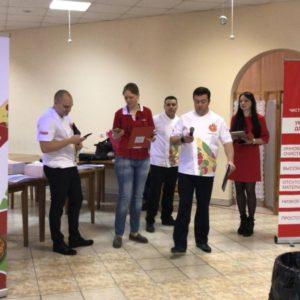 Открытие отборочного этапа чемпионата по пицце в южном федеральном округе
