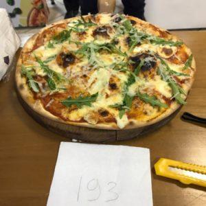 Пицца участника отборочного тура