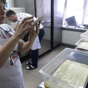 Римское тесто на пиццу в контейнере