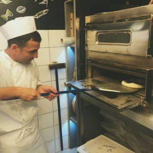 Приготовление пиццы в Бамбинополь