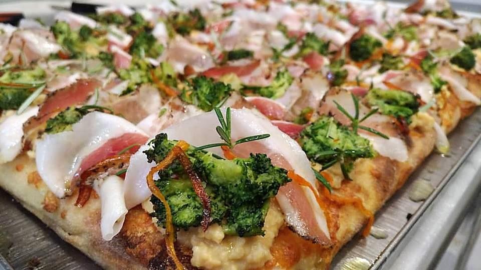 Сицилийская пан пицца
