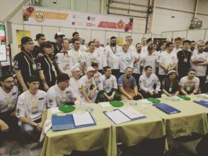 Отборочный тур чемпионата России по пицце в Новосибирске