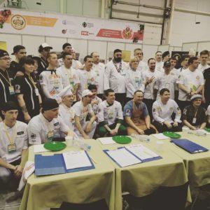 Участники чемпионата по пицце в Сибири