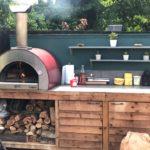 Готовая домашняя ппеечь для пиццы