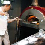 Дровяная печь в Батони