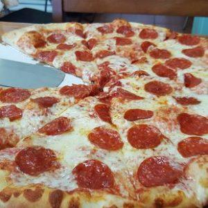 Американская пицца - Нью Йоркская в разрезе