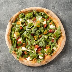 Классическое тесто для пиццы по прямому методу