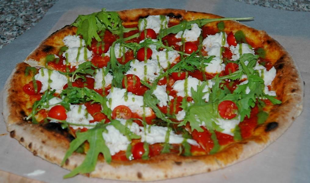 Пицца в ресторане Море-Гриль