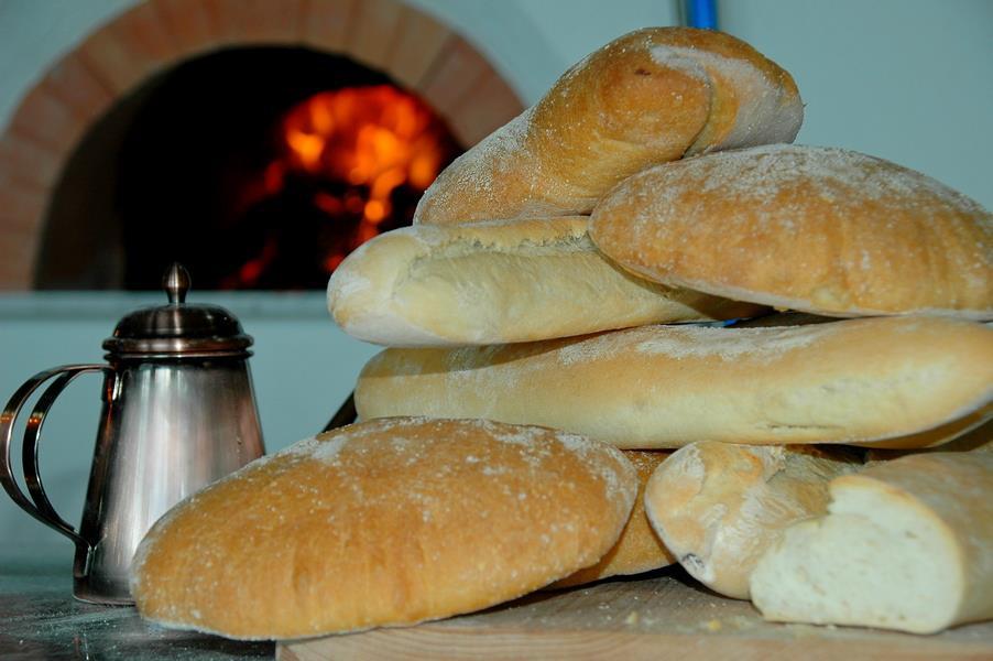 Хлеб питы в ресторане где было обучение