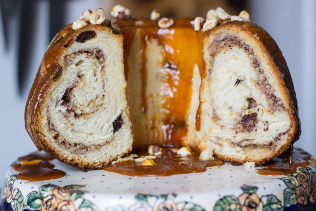 Кулич к пасхе - ореховый панеттоне