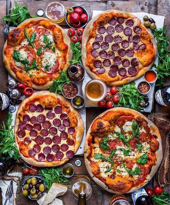 Домашние пиццы