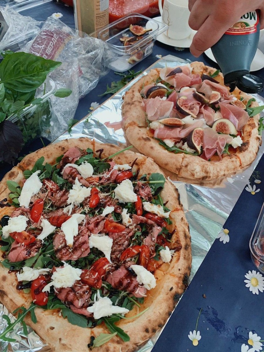 Выездное обучение пицца на дровяной печи