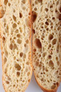 Структура хлеба на закваске Пулиш