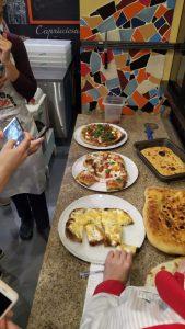 Пицца учеников
